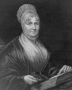 Engraving of Elizabeth Fry from a portrait by Charles Pearson.